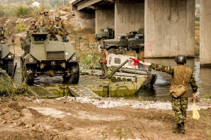 На Дніпропетровщині завершились збори резервістів-десантників - фото 1