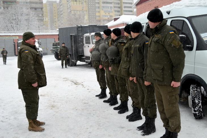 Нацгвардійці з Дніпра вирушили в зону АТО - фото 1
