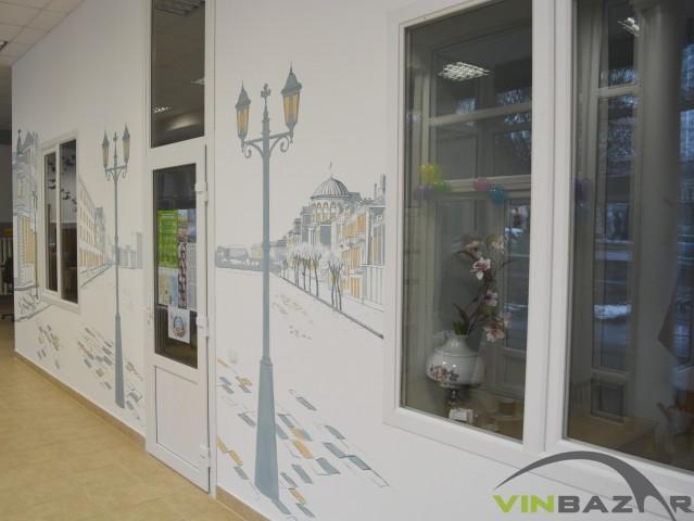 У міській бібліотеці відкриють кав'ярню з малюнками старої Вінниці на стінах - фото 5