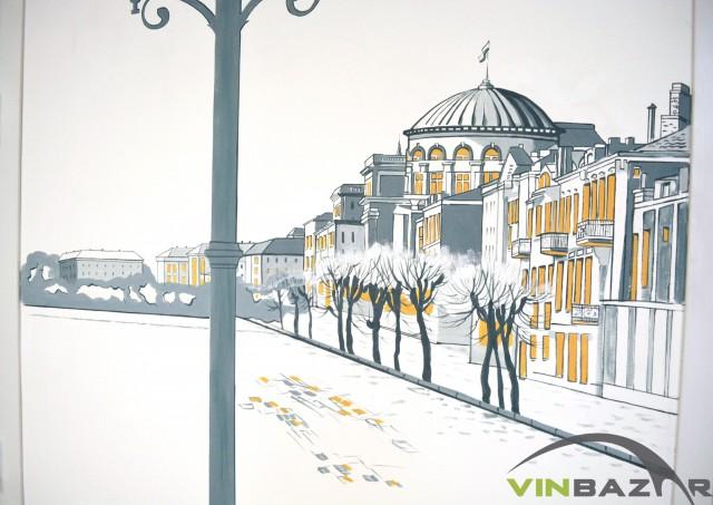 У міській бібліотеці відкриють кав'ярню з малюнками старої Вінниці на стінах - фото 1