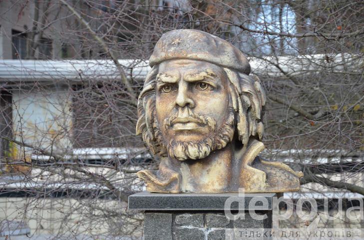Перший в Європі пам'ятник революціонеру Че Геварі причаївся у Вінниці  - фото 5