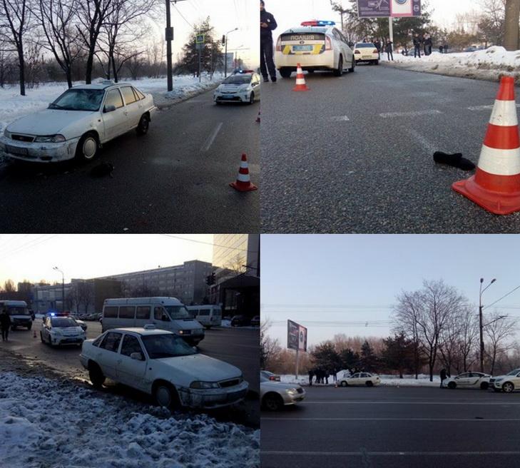 У Дніпрі на пішохідному переході жінка потрапила під колеса таксі - фото 1