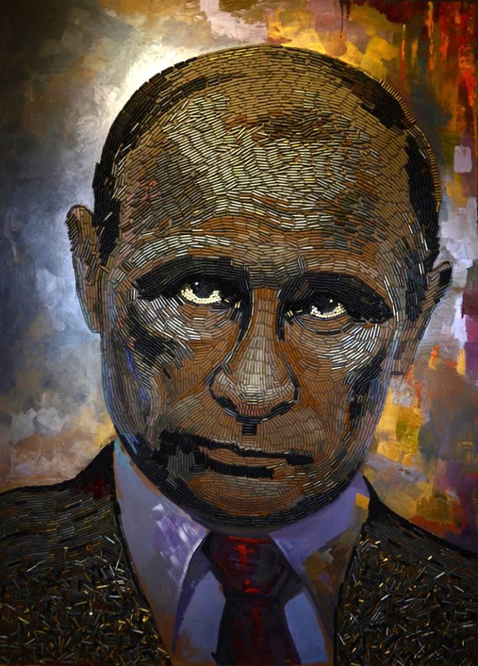 """Путін з гільз і серце-граната: Як українці возять світом """"першоелементи війни"""" - фото 1"""