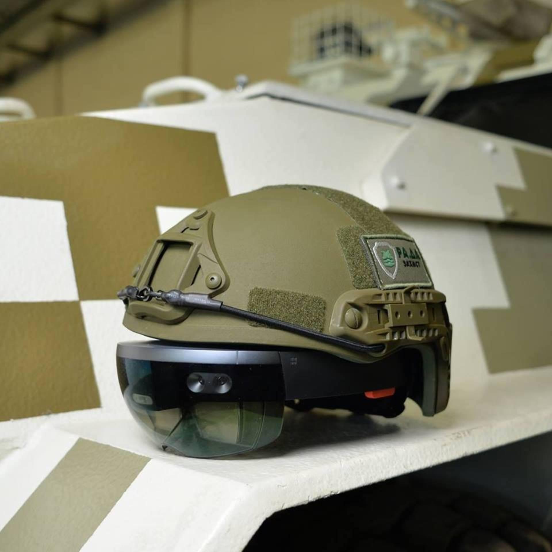 Украинские учёные говорили о создании шлема виртуальной реальности для военных