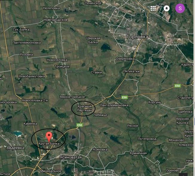 Бій під Крутою Балкою. ЗСУ продовжують відрізати Донецьк від Горлівки (КАРТА) - фото 1