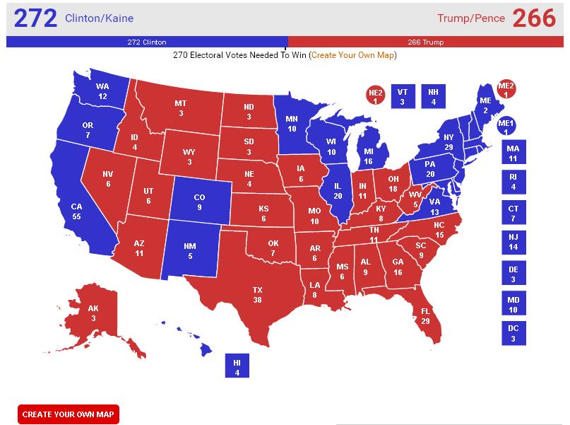 Вибори в США: Клінтон проти Трампа (ХРОНІКА) - фото 1