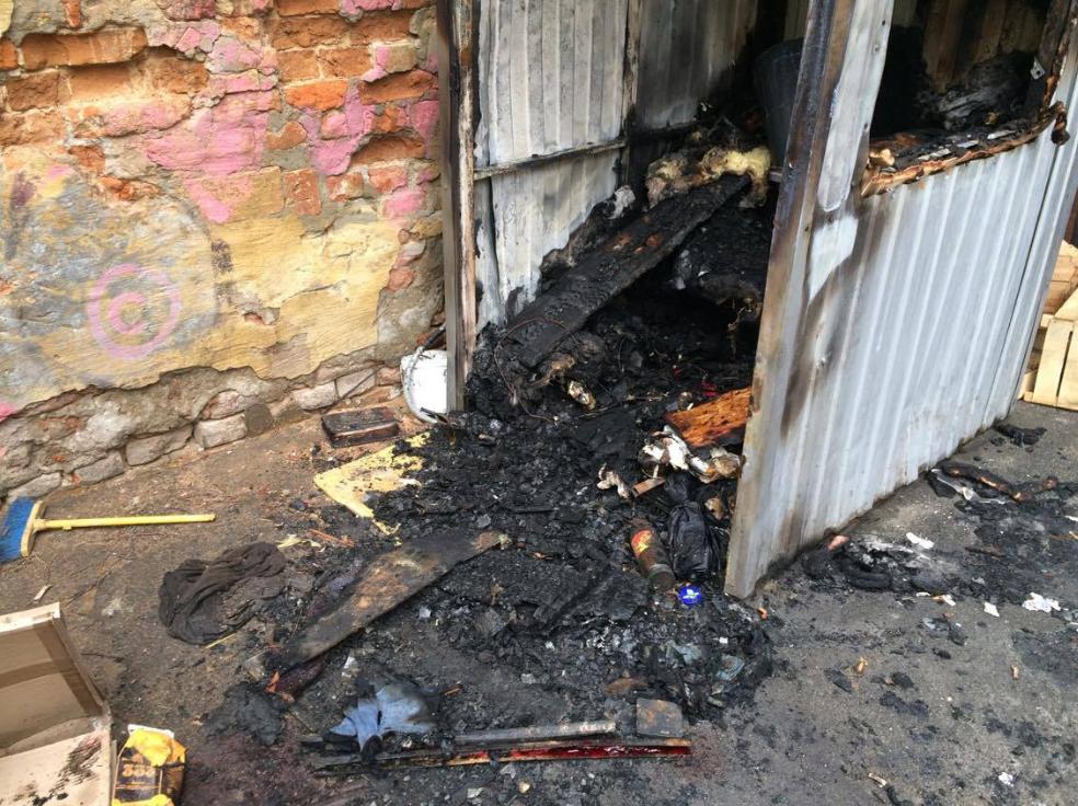 У Києві охоронець згорів через власну сигарету - фото 1