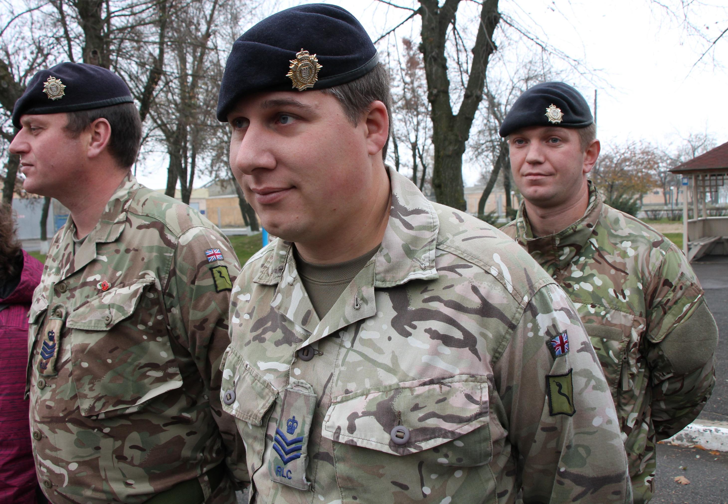У Миколаєві британські інструктори навчтимуть бійців тактичній логістиці
