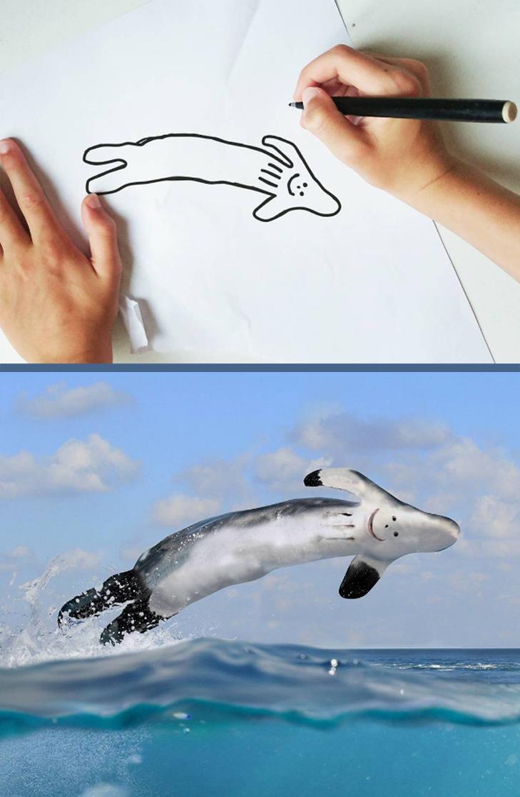 Як будуть виглядати дитячі малюнки, якщо їх оживити - фото 10