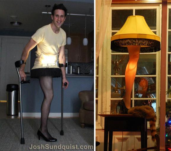 Як чоловік з ампутованою ногою створю надзвичайні костюми на Хеллоуїн - фото 5