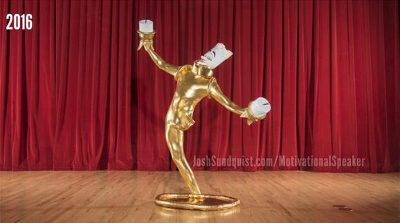 Як чоловік з ампутованою ногою створю надзвичайні костюми на Хеллоуїн - фото 1