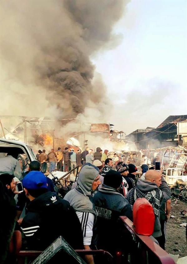 У Багдаді стався другий теракт за день, десятки загиблих - фото 1