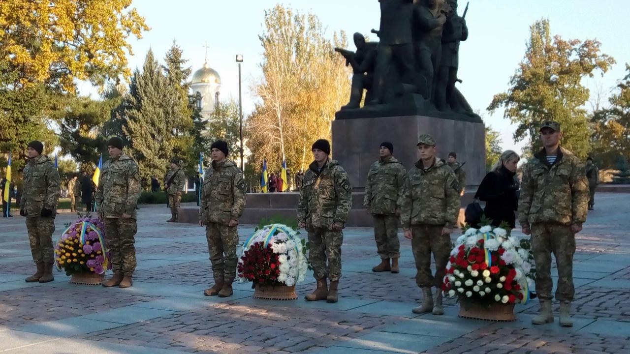 Миколаївці відзначили 72-у річницю визволення України