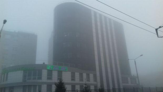 Харків вкрив надзвичайно густий туман - фото 2