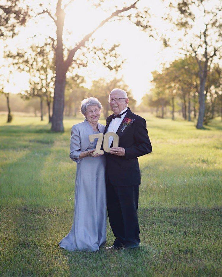 Як зворушливо закохана пара відсвяткувала 70 років весілля - фото 3