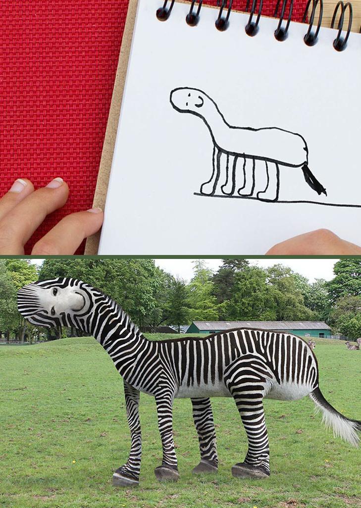 Як будуть виглядати дитячі малюнки, якщо їх оживити - фото 3
