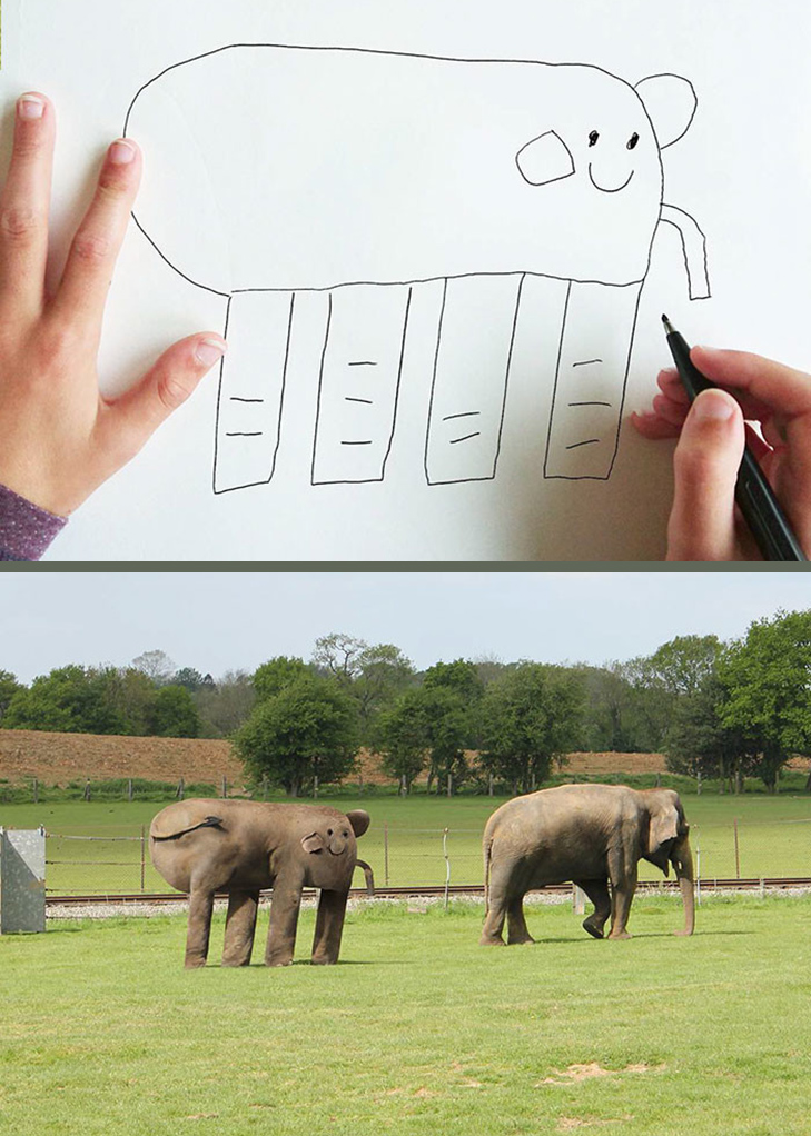 Як будуть виглядати дитячі малюнки, якщо їх оживити - фото 8
