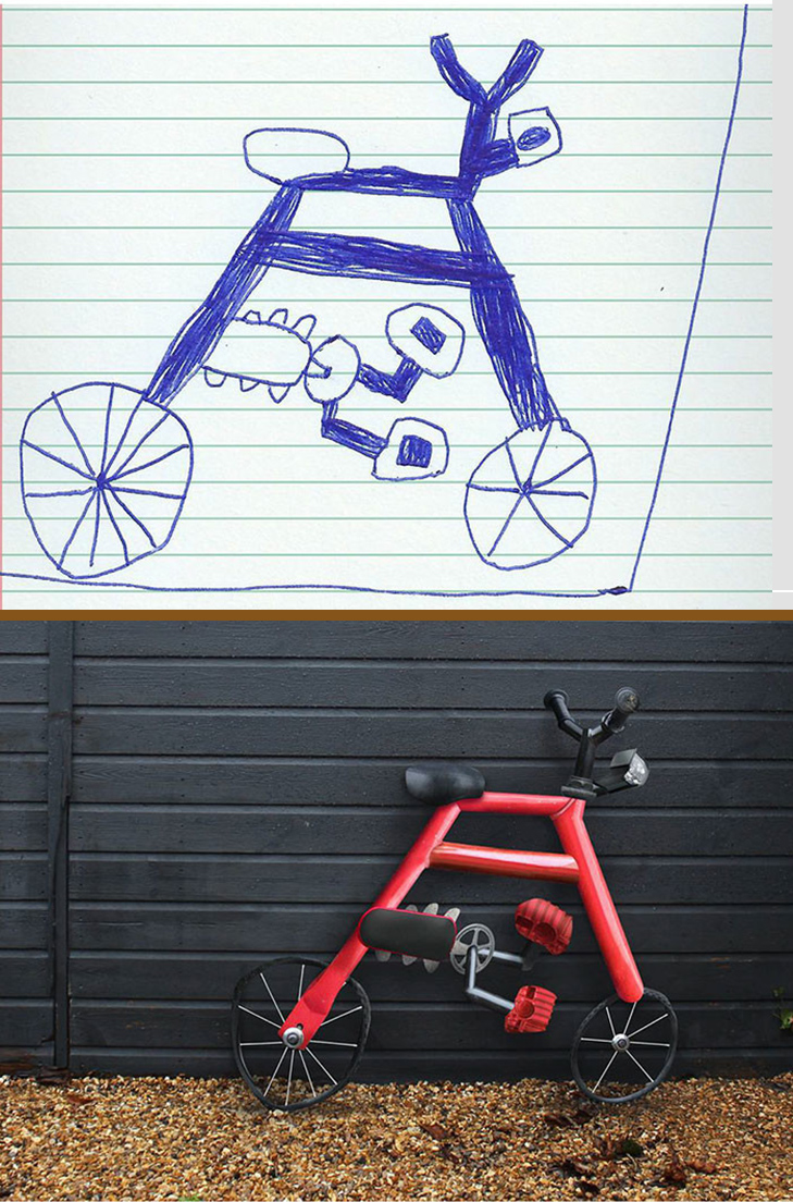 Як будуть виглядати дитячі малюнки, якщо їх оживити - фото 16