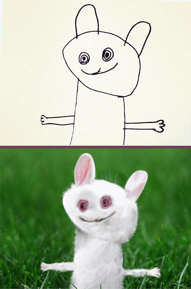 Як будуть виглядати дитячі малюнки, якщо їх оживити - фото 19