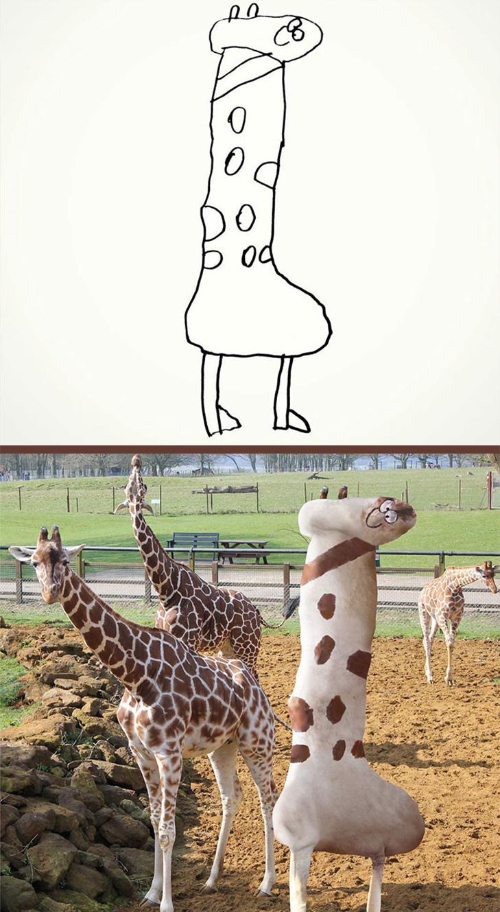 Як будуть виглядати дитячі малюнки, якщо їх оживити - фото 11
