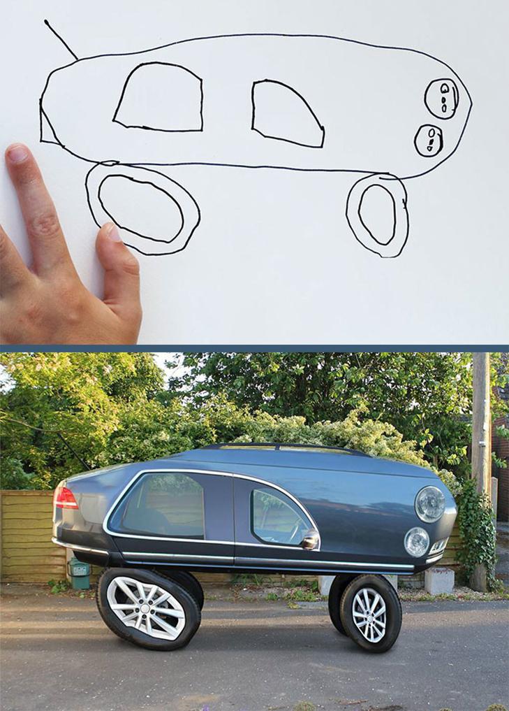Як будуть виглядати дитячі малюнки, якщо їх оживити - фото 12
