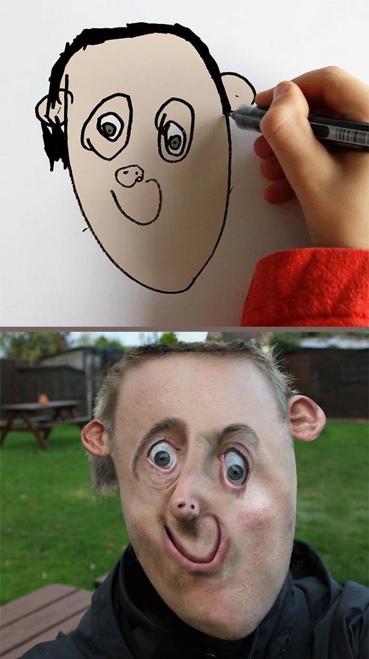 Як будуть виглядати дитячі малюнки, якщо їх оживити - фото 5