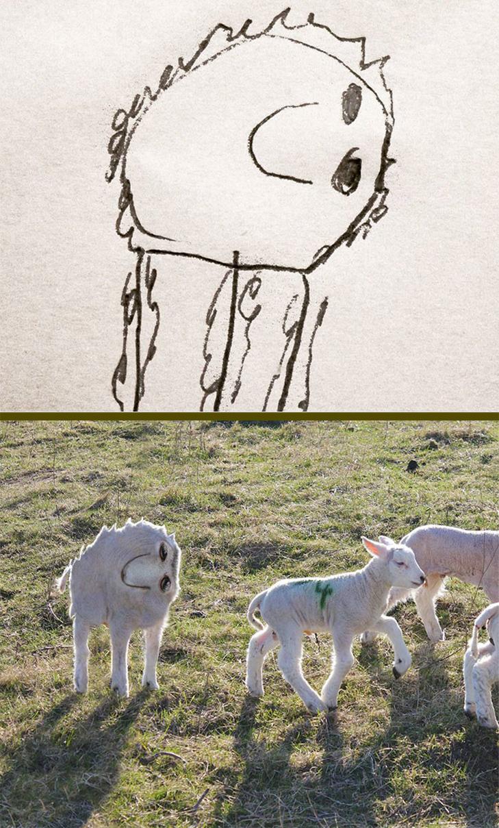 Як будуть виглядати дитячі малюнки, якщо їх оживити - фото 18