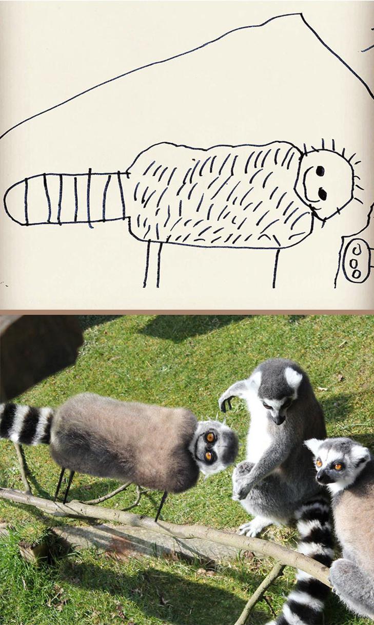 Як будуть виглядати дитячі малюнки, якщо їх оживити - фото 21