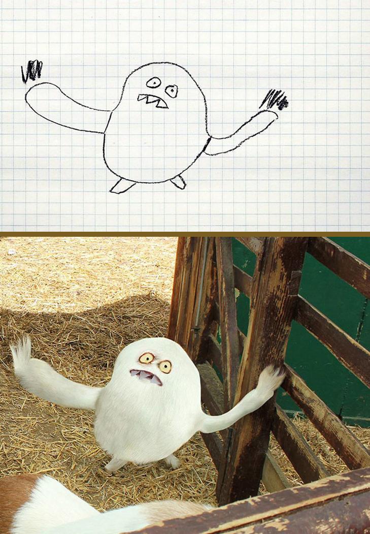 Як будуть виглядати дитячі малюнки, якщо їх оживити - фото 15