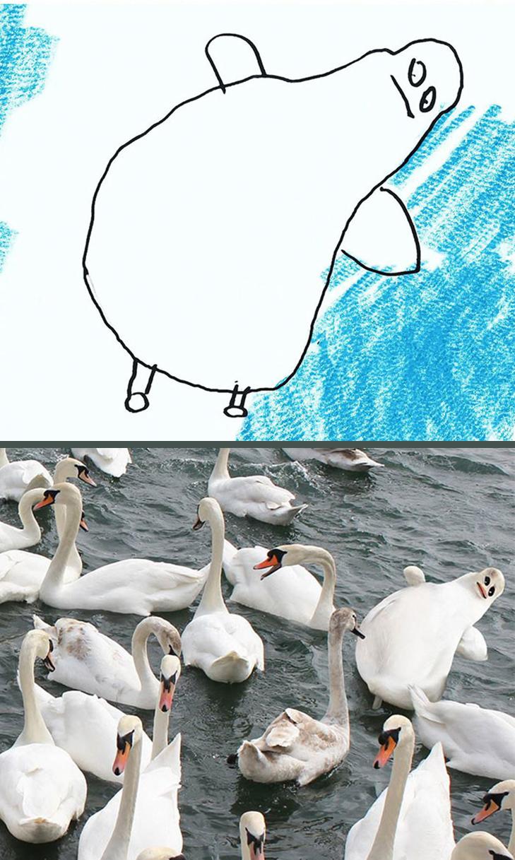 Як будуть виглядати дитячі малюнки, якщо їх оживити - фото 20