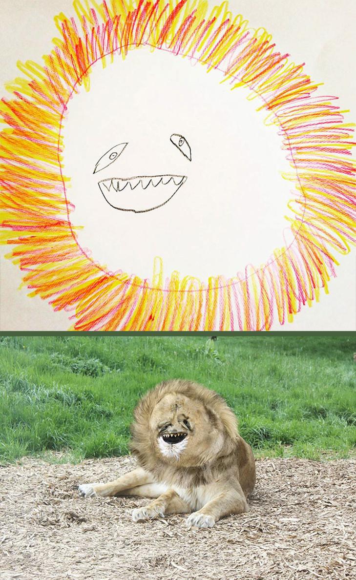 Як будуть виглядати дитячі малюнки, якщо їх оживити - фото 6