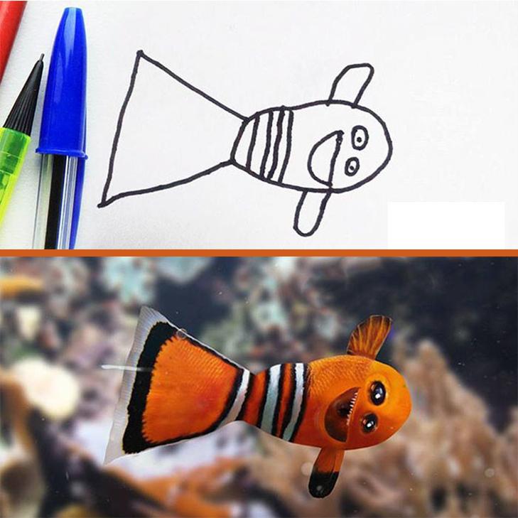 Як будуть виглядати дитячі малюнки, якщо їх оживити - фото 4