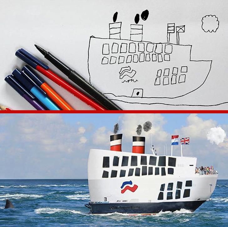 Як будуть виглядати дитячі малюнки, якщо їх оживити - фото 7