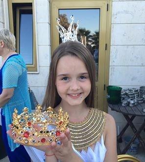 10-річна вінничанка стала переможницею Little Miss World 2016 - фото 1