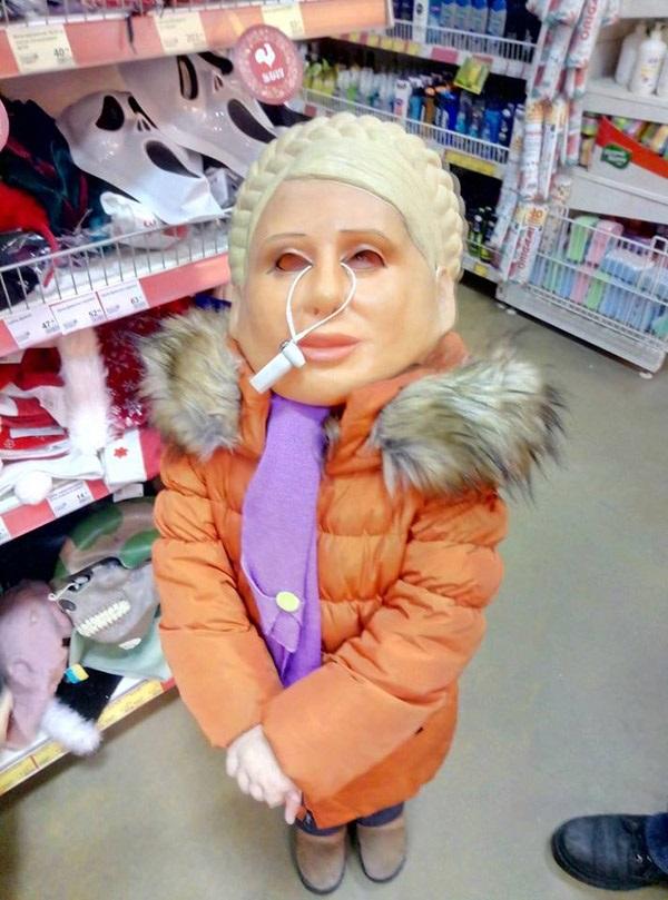 У Дніпрі торгують масками Тимошенко - фото 1