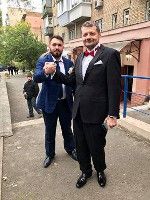 З'явилися перші фото з весілля Мосійчука - фото 1
