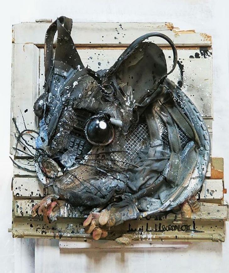 Художник перетворює купи сміття в неймовірні скульптури тварин - фото 18