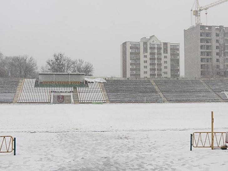 """Вінницькій """"Ниві"""" не дозволили зіграти останній домашній матч року - фото 1"""