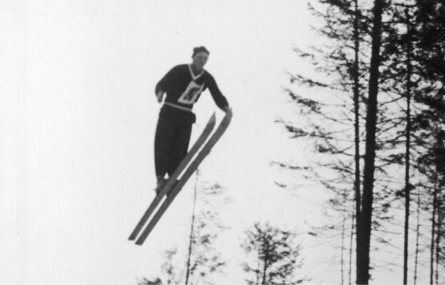 Як на Закарпатті майже сто років тому лижники вражали трюками - фото 3