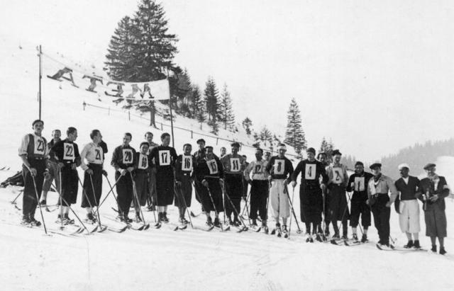 Як на Закарпатті майже сто років тому лижники вражали трюками - фото 2