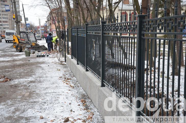 Тепер можна побачити, як точно виглядатиме паркан навколо Центрального парку - фото 1