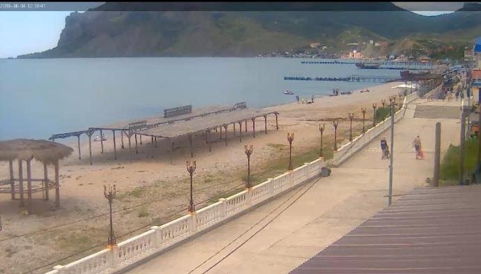 Кримські пляжі, які б шокували Айвазовського, або змусили його облизнутися - фото 9