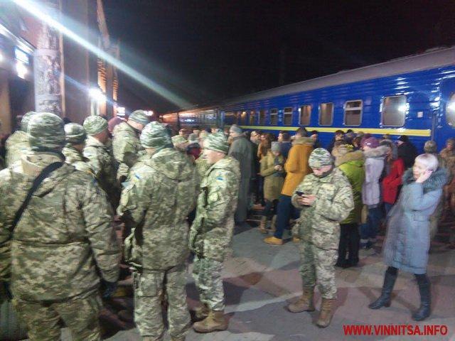 Потяг єднання прибув до Вінниці    - фото 3