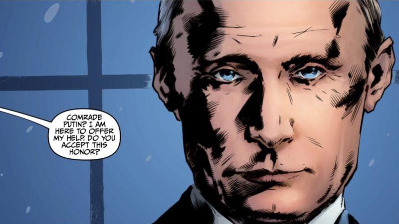 Як Путін, Трамп і Обама приміряли ролі супергероїв - фото 1