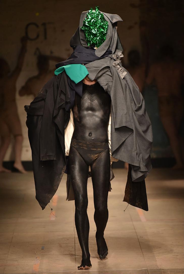 Краще б ми цього не бачили - в Лондоні відбувся Тиждень чоловічої моди - фото 11