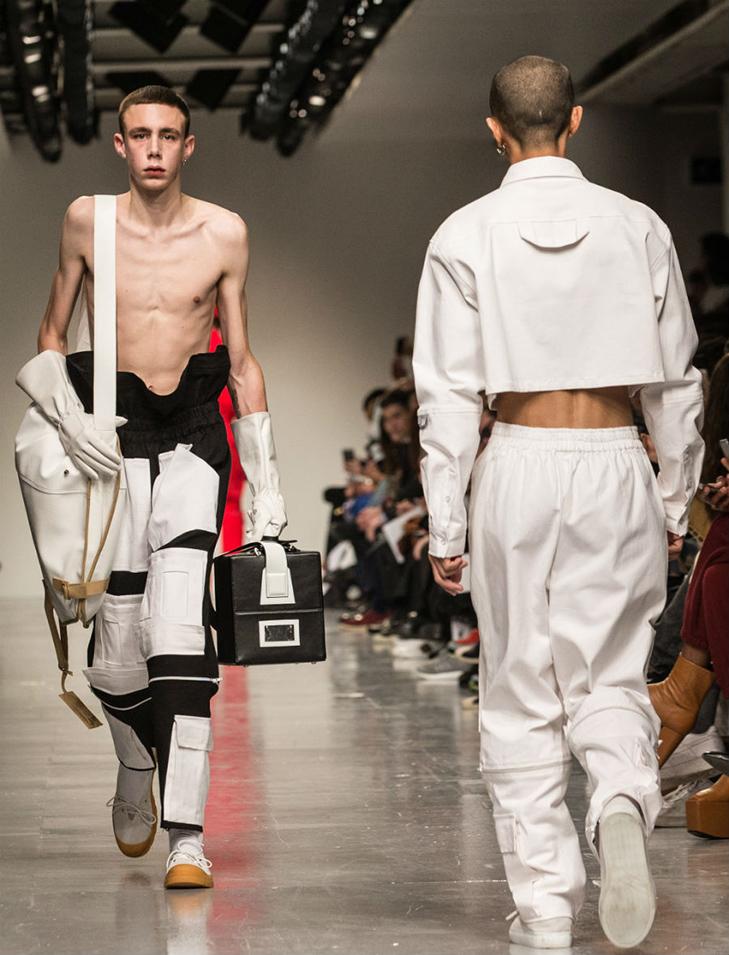 Краще б ми цього не бачили - в Лондоні відбувся Тиждень чоловічої моди - фото 4