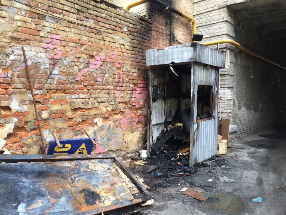 У Києві охоронець згорів через власну сигарету - фото 2