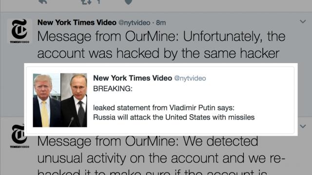 The New York Times передала оракетном ударе РФ