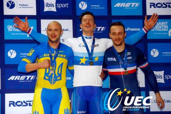 Харківський велогонщик Андрій Винокуров став призером чемпіонату Європи - фото 1