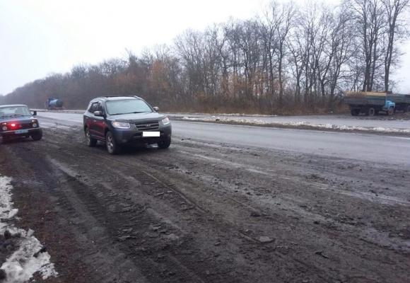 Вінницькі ДПСники полюють на брудні машини - фото 1